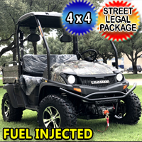 450cc Outfitter 4x4 UTV Utility Vehicle w/ Light Kit