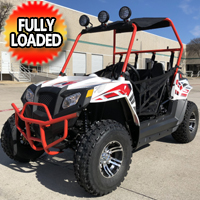 Beats 180XL UTV 170cc Beats 180XL Monster Golf Cart UTV 170cc Utility Vehicle W/LED Lights & Custom Rims/TiresVehicle W/LED Lights & Custom Rims/Tires