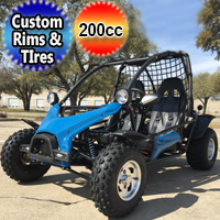 Big Boy 200cc Deluxe Go Kart Dune Buggy Fully Automatic with Reverse