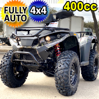 Commander 400cc ATV 4 Wheeler 4 x 4 Four Wheel Drive
