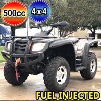 500cc Commander 4x4 Fully Automatic w/Reverse EFI Utility ATV - COMMANDER 500EFI