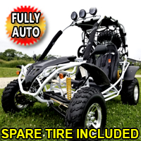 200cc Cazador Fully Automatic Go Kart w/ Custom Rims & Tires
