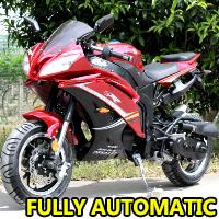 200cc Ninja Motorcycle 4 Stroke Moped Scooter - SST200