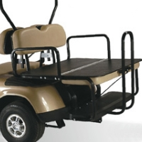 Precedent Elite 2-in-1 Flip Bottom Rear Seat Kits - Factory Colors