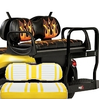 Max5 Rear Seat Kit w/Extreme Cushion Covers