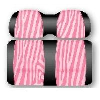 Ez-Go TXT & RXV DoubleTake Envy Series Pink Passion Replacement Front Seats