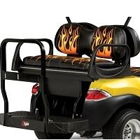 Max5 Rear Seat Kit w/Envy Series Cushion Covers