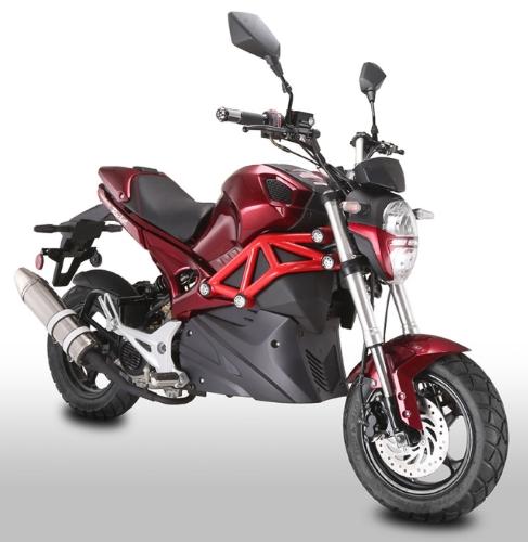 50cc Rocket Sport Motorcycle Motorscooter With Elec Start 12