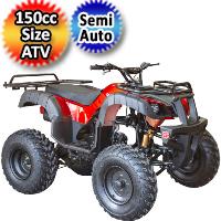 125cc ATV Utility Quad 4 Stroke Semi Auto ATV - COUGAR-UT-125