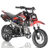 70cc Dirt Bike Fully Automatic Pit Bike with Training Wheels - DB-25 70cc