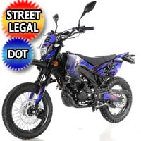 250cc 4 Stroke Manual 5 Speed Dirt Bike - DB-36-DELUXE-DOT