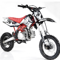 125cc Dirt Bike Apollo Series 4 Speed Manual Clutch - DB-X15