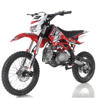 125cc Apollo Series Dirt Bike 4 Speed Manual w/ Headlight Pit Bike - DB-X19