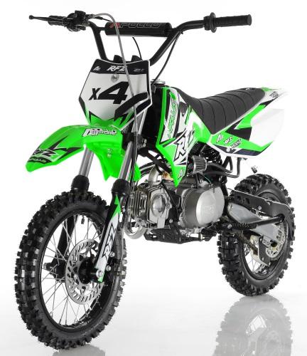 Apollo db x4 110cc 4 speed semi automatic pit dirt bike publicscrutiny Images