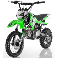 Apollo DB-X4 110cc 4 Speed Semi Automatic Pit Dirt Bike