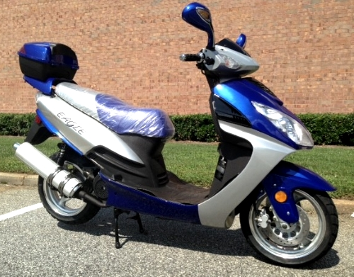 Eagle 150cc 4 Stroke Air Cooled Moped Scooter With Radio & MP3 Connection -  Eagle 150cc