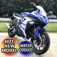 Brand New 250cc Single Cylinder 4 Stroke Moped Scooter Motorcycle - FALCON 250cc