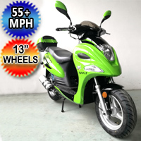 150cc Force 4 Stroke Single Cylinder Moped Scooter - FORCE 150CC