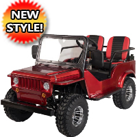 G-Rover Mini Truck Gas Golf Cart Custom Plus 125cc Mini jeep Vehicle - GR3 (CY125GK-C)