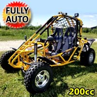 Brand New Spider 200 4 Stroke Gas Go Kart