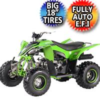 111cc Pentora 125 EFI ATV Sport 4 Stroke Fully Auto Quad - PENTORA 125 EFI