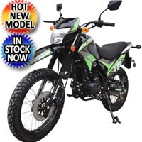 250cc Manual Enduro 4 Speed Kick Start Street Legal Dirt Bike - Raven BSR 250cc