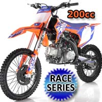 200cc Dirt Bike 5-Speed Manual Air Cooled Pit Bike - RXF200 FREERIDE MAX