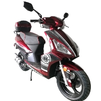 "Road Master 50cc Moped Scooter with 13"" Tires Radio USB/SIM Card & Speakers"
