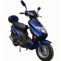 50cc Runner 4 Stroke Single Cylinder Moped Scooter