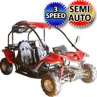 125cc Go Kart T-REX Model - Mid Size With Elec. Start - T-REX 125cc