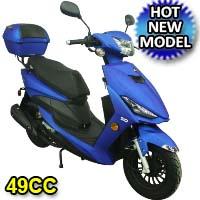 Brand New 50cc Viper Matte 4 Stroke Moped Scooter