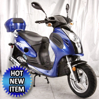 Valero 150cc QT-21B 4-Stroke Air-Cooled Moped Scooter