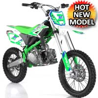 125cc Dirt Bike 4 Speed Manual Pit Bike - Z20
