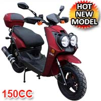 Zoma 150cc Matte Finish 4-Stroke Moped Scooter