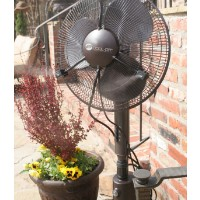 "16"" Oscillating Portable Misting Fan"