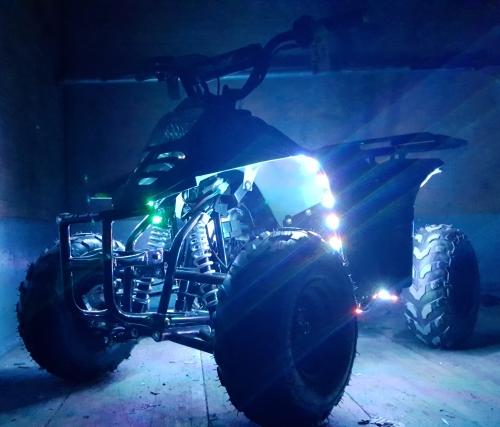 110cc Atv LED Edition Full Automatic Coolster Mini Atv - 3050C