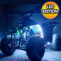110cc Atv LED Edition Full Automatic Coolster Mini Atv