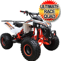 Coolster 125cc Atv Fully Automatic Mid Size Racer Pro Quad - ATV-3125B