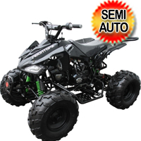 "125cc Coolster Atv Semi Automatic Mid Size Quad With Big 19""/18"" Tires! - ATV-3125C-2"