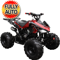"125cc Coolster Atv Fully Automatic Mid Size Quad With Big 19""/18"" Tires! - ATV-3125CX-2"