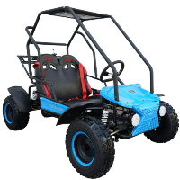 Coolster 125cc Mid Size Go-Kart Fully-Automatic Go Cart - GK-6125B
