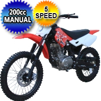 Coolster 200cc Full Size Manual Clutch - QG-216
