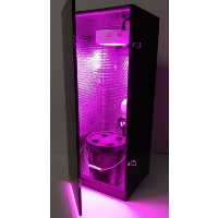 Premium Stealth Hydroponic Growing Cabinet Indoor Box Kit