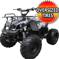 "125cc Four Wheeler Coolster 125cc Fully Automatic Mid Size ATV Four Wheeler w/ Large 19"" Tires - ATV-3125XR8-U"