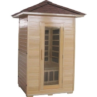 2 Person Outdoor Carbon Infrared Sauna