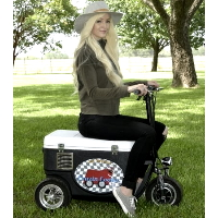 Cruzin Cooler 500 Watt Scooter Sport Cooler Wagon/Trailer - CZ-HB Sport