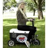 Cruzin Cooler 500 Watt Scooter Sport Cooler Wagon/Trailer - CZ-HB Sport