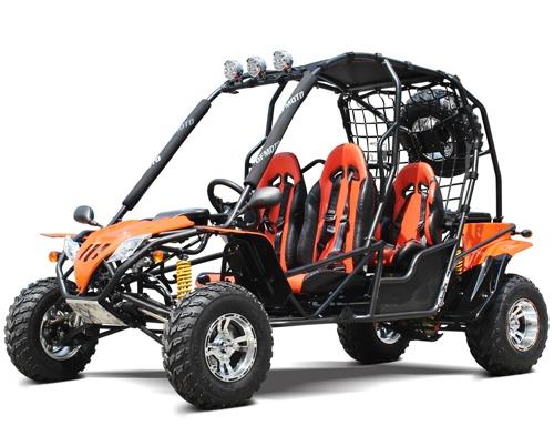 200 Go Kart Big 170cc Go Cart Adult Full Size 4 Seater Dune Buggy - DF200GHA