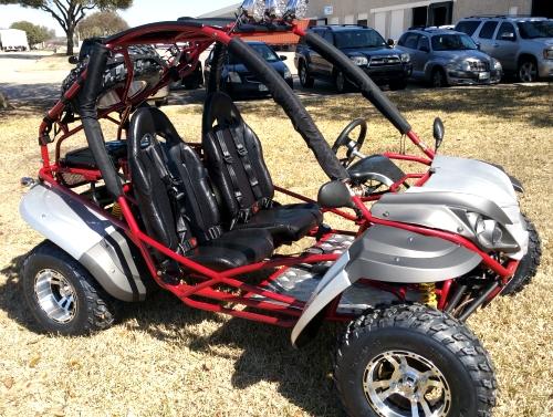 200cc Adult Go Kart Avenger Go Kart Fully Auto With Reverse W / Custom  Rims/ Tires - Model RPS-DF200GKR