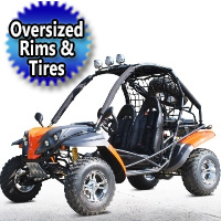 200cc Avenger Go Kart Fully Auto With Reverse W / Custom Rims/ Tires - Model  DF200GKR